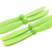 Diatone 6045 Plastic Self Tightening Propellers 6 x 4.5 CW/CCW Green 2 Pairs